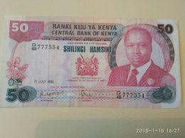 50 Schillings 1985 - Kenya