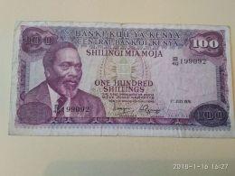 100 Schillings 1976 - Kenia