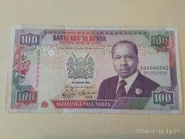 100 Schillings 1992 - Kenya