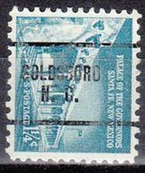 USA Precancel Vorausentwertung Preo, Locals North Carolina, Goldsboro 259 - Vereinigte Staaten