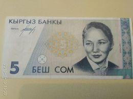 5 Soms 1994 - Kirghizistan
