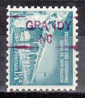 USA Precancel Vorausentwertung Preo, Locals North Carolina, Grandy 835,5 - Vereinigte Staaten