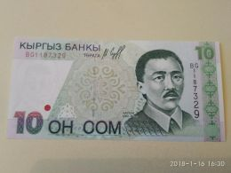 10 Soms 1997 - Kirghizistan