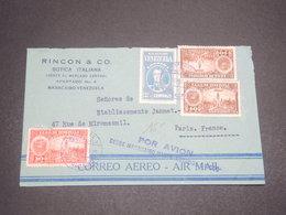 VENEZUELA - Enveloppe Commerciale De Maracaibo Pour La France En 1930 Par Avion, Affranchissement Plaisant - L 12150 - Venezuela