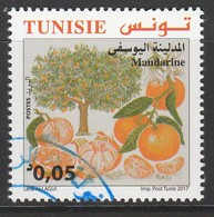 Tunisia 2017 Citrus Fruits Of Tunisia 0.05 D Multicolor SW 1938 O USED - Tunisia