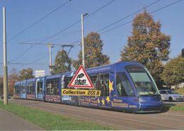 "Tramway Citadis 402 Alstom Avec Livrée ""européenne"", à Strasbourg (67)  - - Strasbourg"