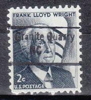 USA Precancel Vorausentwertung Preo, Locals North Carolina, Granite Quarry 843 - Vereinigte Staaten