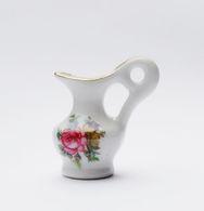 Fève Miniature Pot Pichet Fleuri - Unclassified