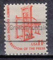 USA Precancel Vorausentwertung Preo, Locals North Carolina, Greenmountain 843 - Vereinigte Staaten