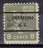 USA Precancel Vorausentwertung Preo, Bureau North Carolina, Greensboro 813-71, Dated - Vereinigte Staaten