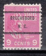USA Precancel Vorausentwertung Preo, Bureau North Carolina, Greensboro 814-71, Dated - Vereinigte Staaten