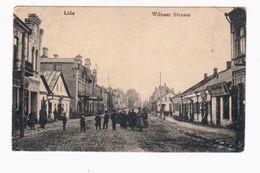 Lida Wilnaer Strasse 1917 Feldpost OLD POSTCARD 2 Scans - Belarus