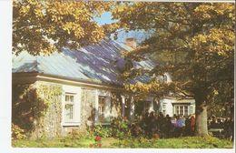 K2. Real Photo Postcard By Gailitis Latvia Liesma 1975 Memorial Museum Of Spridisi Writer A. Brigadere In Tervete - Latvia