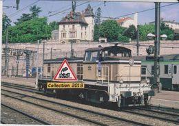 Loco BB 63085 En Manoeuvre, à Dijon-Ville (21)  - - Dijon