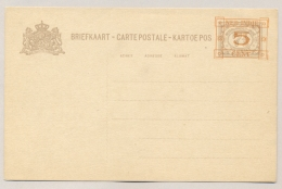 Nederlands Indië - 1929 - 5 Opdruk Op 7,+5 Cent Cijfer, Briefkaart G44 / H&G 44 - Ongebruikt - Nederlands-Indië