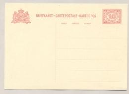 Nederlands Indië - 1930 - 10 Cent Cijfer, Briefkaart G49 / H&G 49 - Ongebruikt - Nederlands-Indië