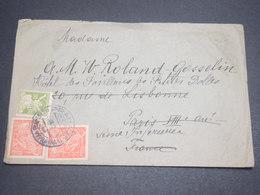 TCHÉCOSLOVAQUIE - Enveloppe Pour La France En 1923 , Affranchissement Plaisant - L 12164 - Briefe U. Dokumente
