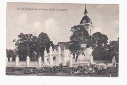Vor Der Klosterkirche Polawen 1916 POSTCARD 2 Scans - Lithuania