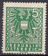 Austria 1945 Sc. 434 Coat Of Arms Nuovo  MNH Osterreich - 1918-1945 1ère République