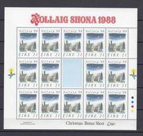 Ireland 1988 Christmas Sheet  MNH(**) - 1949-... Repubblica D'Irlanda