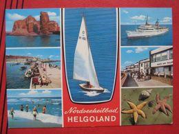 "Helgoland - Mehrbildkarte ""Nordseeheilbad Helgoland"" - Helgoland"