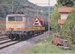 BB 8212 Avec Train De Marchandises, à Mauves (07)  - - Autres Communes