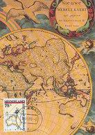 D32422 CARTE MAXIMUM CARD FD 1988 NETHERLANDS - MAP OF AUSTRALIA NOVA HOLLANDIA - CP ORIGINAL - Geografia