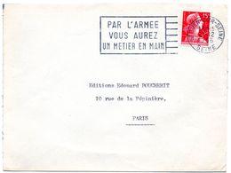 SEINE - Dépt N° 75 =  St OUEN 1956 = FLAMME SECAP ' PAR L'ARMEE VOUS AUREZ UN METIER EN MAIN ' - Annullamenti Meccanici (pubblicitari)