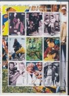 Guinée 1998 Nobel Albert Schweitzer Marge Eva PERON Elvis PRESLEY James DEAN Marilyn MONROE FANGIO Grace KELLY  Everest - Albert Schweitzer