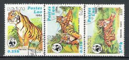 Laos N°  521/23 YVERT  OBLITERE - Laos