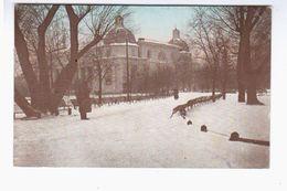 Wilna Eingang Zum Pushkin- Garten 1917 OLD PHOTOPOSTCARD 2 Scans - Lithuania