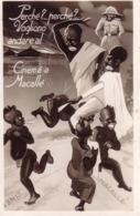 VENDO N.1 CARTOLINA MILITARE DELLA GUERRA IN EITOPIA ANDARE AL CINEMA 'A MACALLE' - Weltkrieg 1939-45