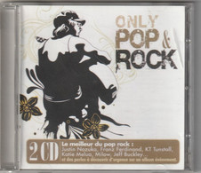 Cd ONLY POP ROCK Le Meilleur 2 Cd ( Port France 150 Gr) - Hit-Compilations