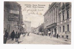 Wilna Bolsh Boguljanka Ca 1915 OLD POSTCARD 2 Scans - Lithuania