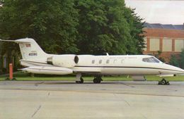 Gates C21A Learjet (Operational Support Aircraft) Of The USAF In Europe  -  CPM - 1946-....: Ere Moderne