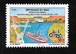 TIMBRE OBLITERE DU MALI DE 2003 N° MICHEL 2590 II - Mali (1959-...)