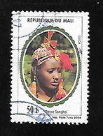 TIMBRE OBLITERE DU MALI DE 2003 N° MICHEL 2609 II - Mali (1959-...)