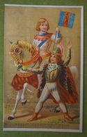 Fond Doré - Histoire Costume, HERAUT D'ARMES - XVe Siècle - Imp. Courbe-Rouzet - Otros