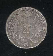 20 Schilling Autriche / Austria 1870 - TTB+ - Austria