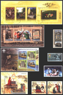 HUNGARY STAMPS, YEAR SET, 2007, CTO, MNH - Full Years