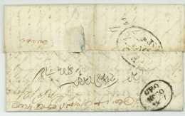 CALCUTTA India 1817 Skinner De Havilland Madras Chennai East India Company - ...-1852 Prephilately