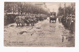 Wilna Georgstrasse Deutsche Soldaten Rotes Kreutz 1916 OLD POSTCARD 2 Scans - Lithuania