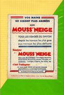 Buvard & Blotting Paper : Pour Vos Mains  MOUSS NEIGE - Perfume & Beauty