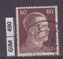 GERMANIA IMPERO, 1941Hitler, 60 Pf, Usato - Oblitérés