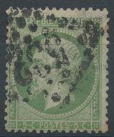 Lot N°39466  Variété/n°20, Oblit GC 532 BORDEAUX (32), Filet NORD - 1862 Napoleon III