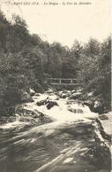 SART-LEZ-SPA.  -  La Hoëgne  -  Le Pont Du Belvédère.  (scan Verso) - Jalhay