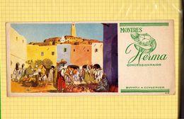 BUVARD : Montres HERMA  Jour De Marché Au Maroc - Perfume & Beauty