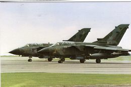 Panavia Tornadoes Of The No.17 And IX Squadrons, Based At Bruggen, West Germany -  CPM - 1946-....: Ere Moderne