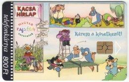 HUNGARY D-924 Chip Matav - Cinema, Cartoon - Used - Hungary
