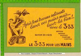 BUVARD & Blotting Paper : Apres Tous Travaux Salissants Lavez Les Mains  Avec 3.33 Savon A Pate - Perfume & Beauty